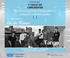 Cierre del V Ciclo de conciertos de Intérpretes y Compositores Argentinos