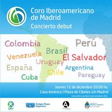 Presentación del Coro Iberoamericano de Madrid