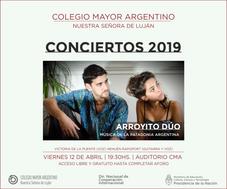 Conciertos 2019 – Arroyito Dúo