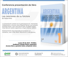 Conferencia presentación de libro