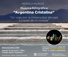 "Muestra fotográfica ""Argentina Cristalina"""