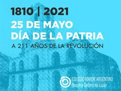 Celebración del 25 de Mayo en la Embajada Argentina y el Colegio Mayor.