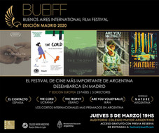 Buenos Aires International Film Festival - Edición Madrid 2020