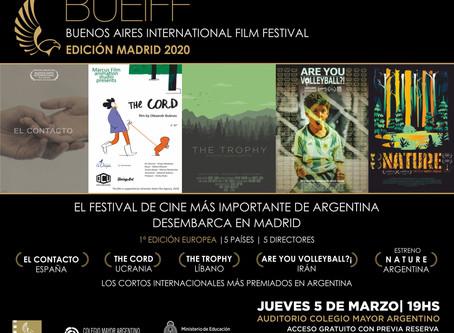 Buenos Aires International Film Festival - Edición Madrid 2020