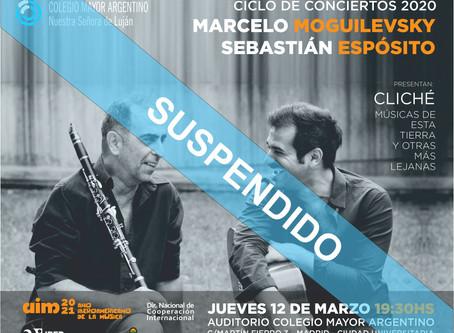 Conciertos 2020 –  Marcelo Moguilevsky y Sebastián Espósito