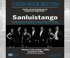 Concierto de la orquesta argentina Sanluistango