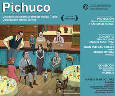 """Proyección del Film """"Pichuco"""" de Martín Turnes"""