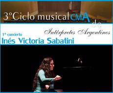 3º Ciclo Musical CMA de Intérpretes Argentinos