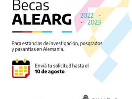 Becas ALEARG, Alemania – Argentina de investigación