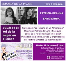 Semana de la mujer - Cine / Coloquio