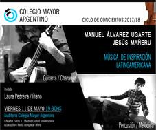 Ciclo de conciertos 2017/18 – Manuel Álvarez Ugarte – Jesús Mañeru