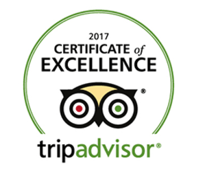 TRIP ADVIRSOR - certificate-of-excellence-2017
