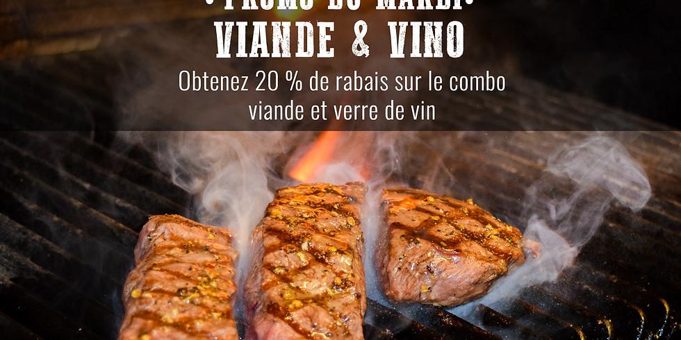 Mardi viande & vino