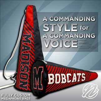 Fully Custom Megaphones and Bags