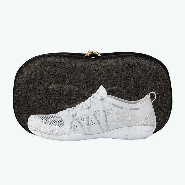 Flyte White Gray and Shoecase