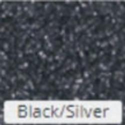 Black-ilver-Glitter