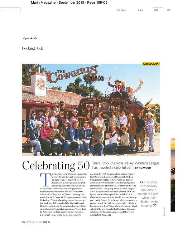 Marin Magazine - September 2015 - Page 1