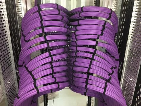Cat6a Cable Install