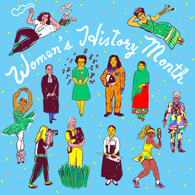 AIGA Women's History Month / AD Dian Holton