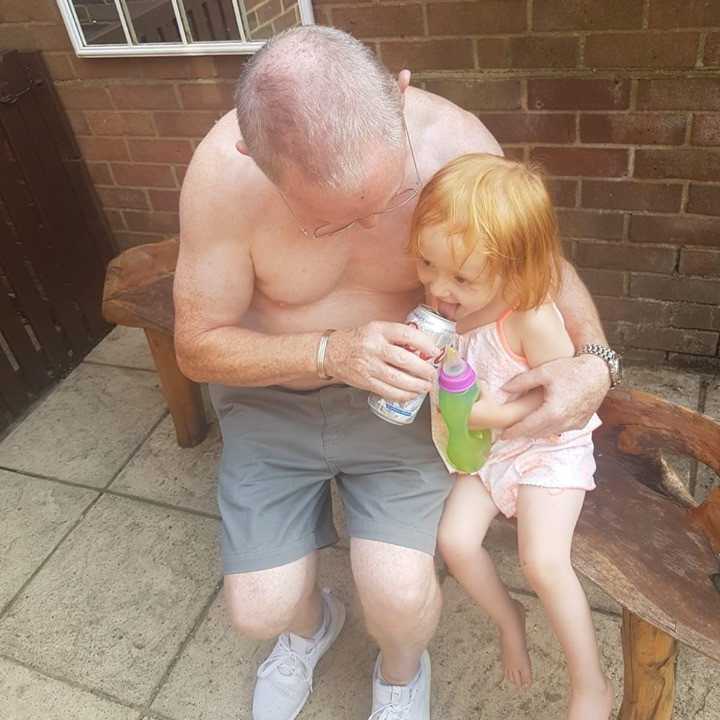 Grandad Pat's Boxing Match