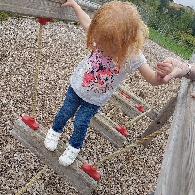 Aoife at the park
