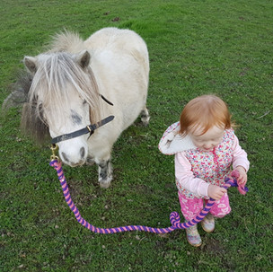 Aoife & Bubbles - besties forever