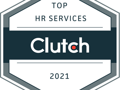 HumanSoft Wins Top HR Services by Clutch in 2021