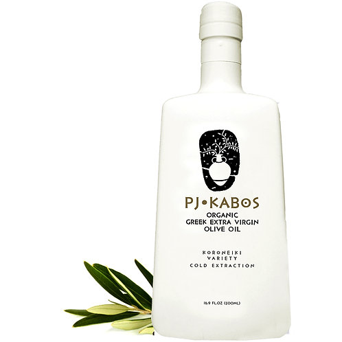 6x PJ KABOS Family Reserve Organic 2019/20 Greek Extra Virgin Olive Oil