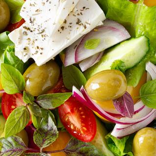 Fresh and Simple Greek Salad