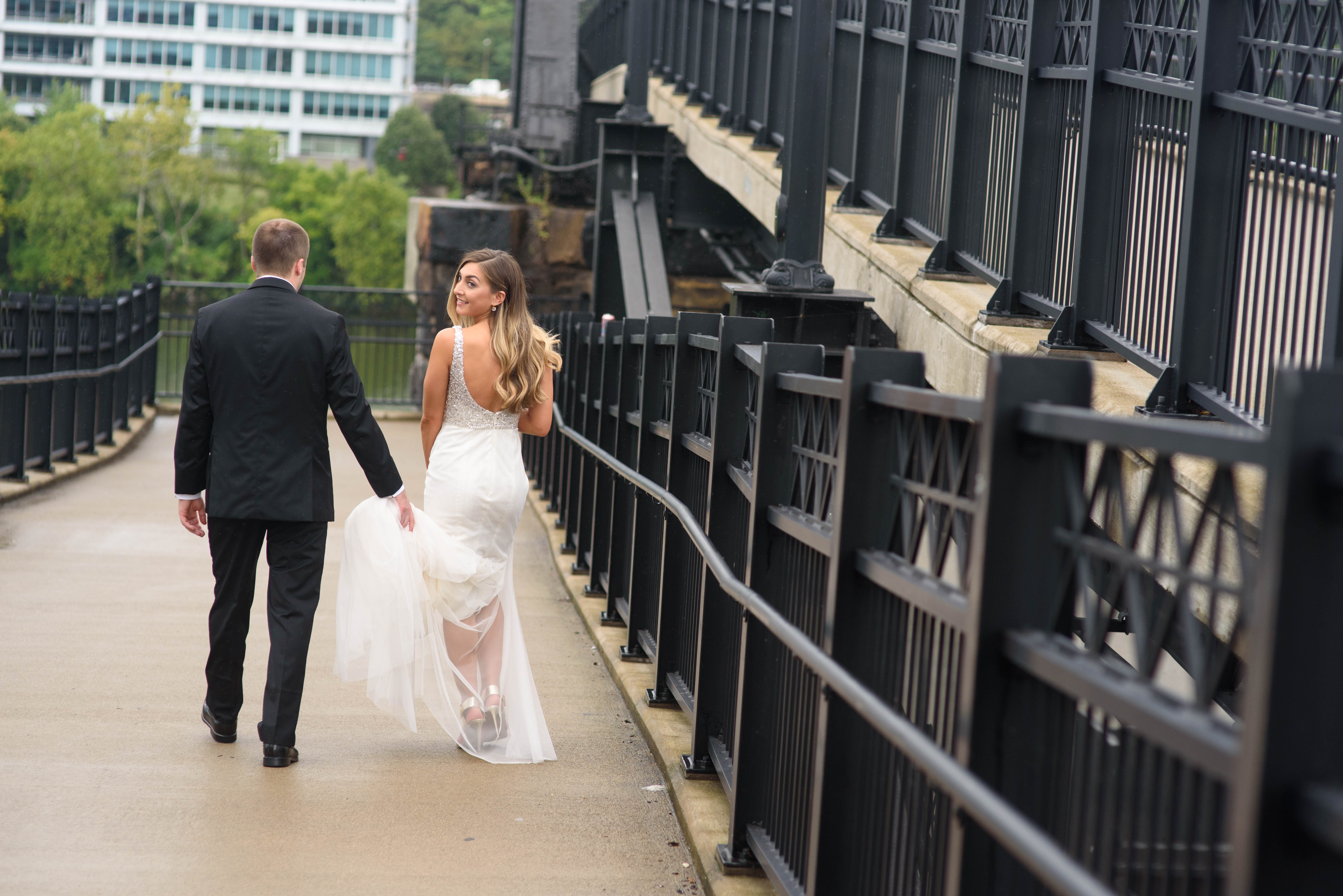 Pittsburgh Wedding couple