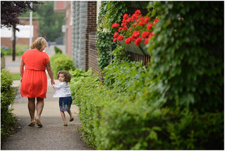 Little Italy Family Session: Cleveland, OH