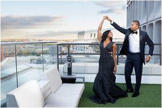 Elegant Cleveland Engagement: Courtney + Chris
