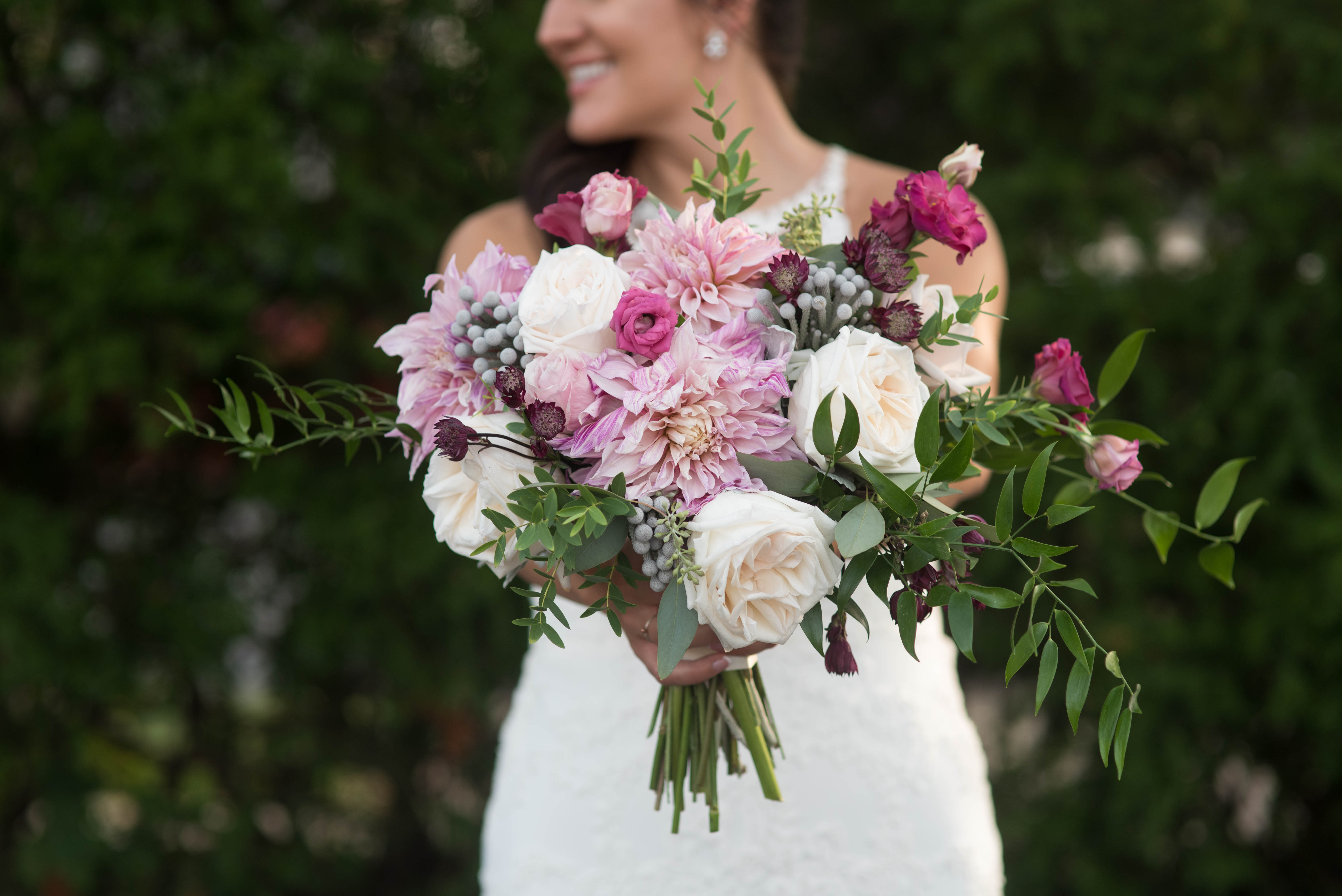Cleveland wedding bouquet