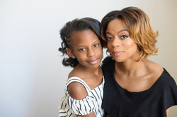 Cleveland mother daughter portraits