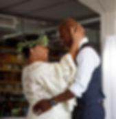 Cleveland Wedding Photography at downtown loft, Burklehagen