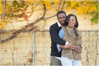 Cleveland Engagement: Lovie + Roi-el