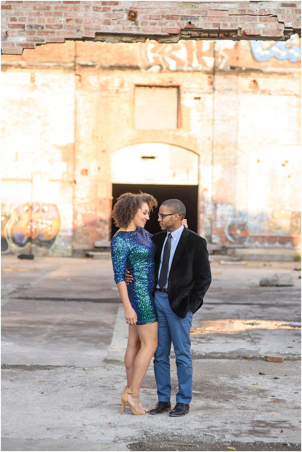 Cleveland Glam Engagement
