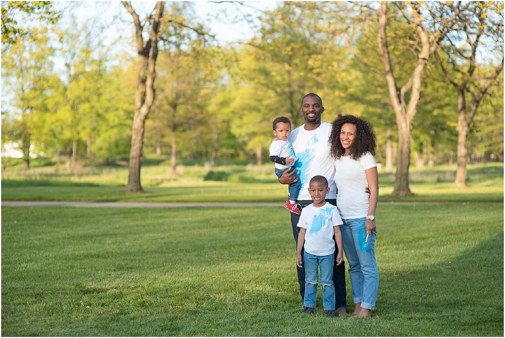 Cleveland Family Gender Reveal