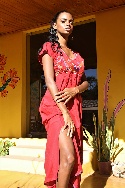 Mexican Dress Longo