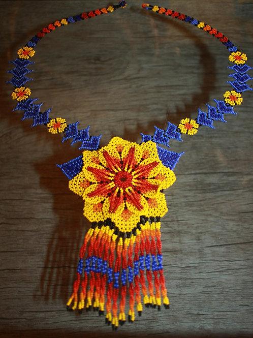 Colares Indígenas Tribo Huichol