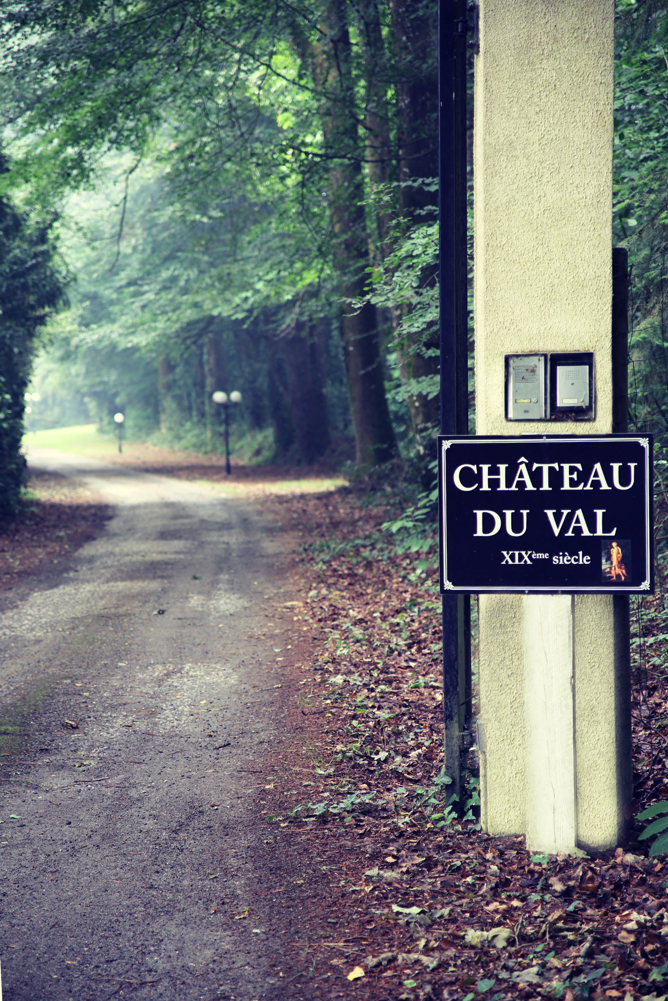 Chateau gate