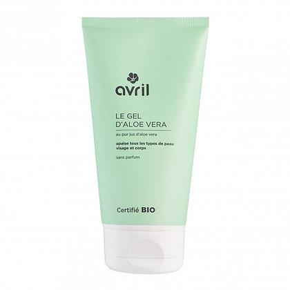Gel d'aloe vera 150ml Certifié bio - Avril