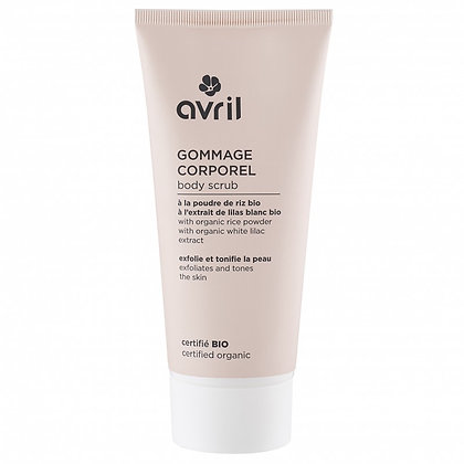 Gommage corporel 200ml Certifié bio - Avril