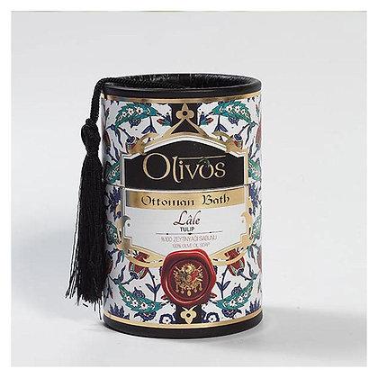 Set de 2 Savons Ottoman à l'Huile d'Olive et Tulipe - Olivos