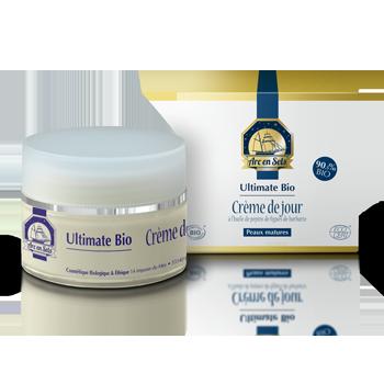 Crème de jour - Ultimate bio 50ml Certifié bio - Arc en Sels