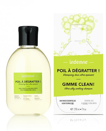 Shampooing Doux Ultra Apaisant Poil A Dégratter! 210ml - Indemne