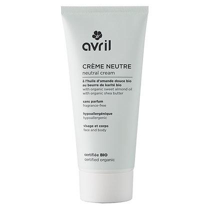 Crème neutre 200ml Certifié bio - Avril
