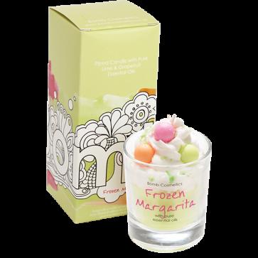 Bougie Frozen Margarita aux huiles essentielles - Bomb Cosmetics