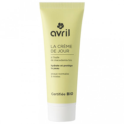 Crème de jour peaux normales à mixtes 50ml Certifié bio - Avril