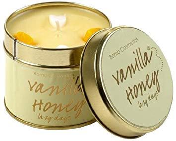 Bougie Vanilla Honey aux Huiles Essentielles - Bomb Cosmetics